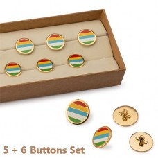 Mayo Colours Buttons Set Of 11