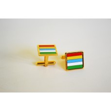 Mayo Colours Square Cufflinks