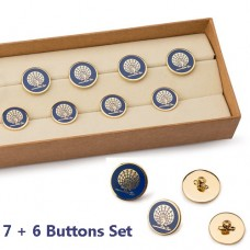 Mayo Peacock Buttons