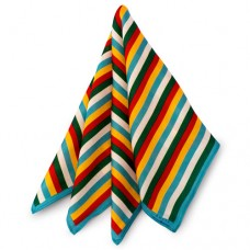 Mayo Stripes Pocket Square