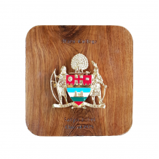 Mayo College Personalized Coat of Arms – Desk/Wall Mounted Wooden Plaque